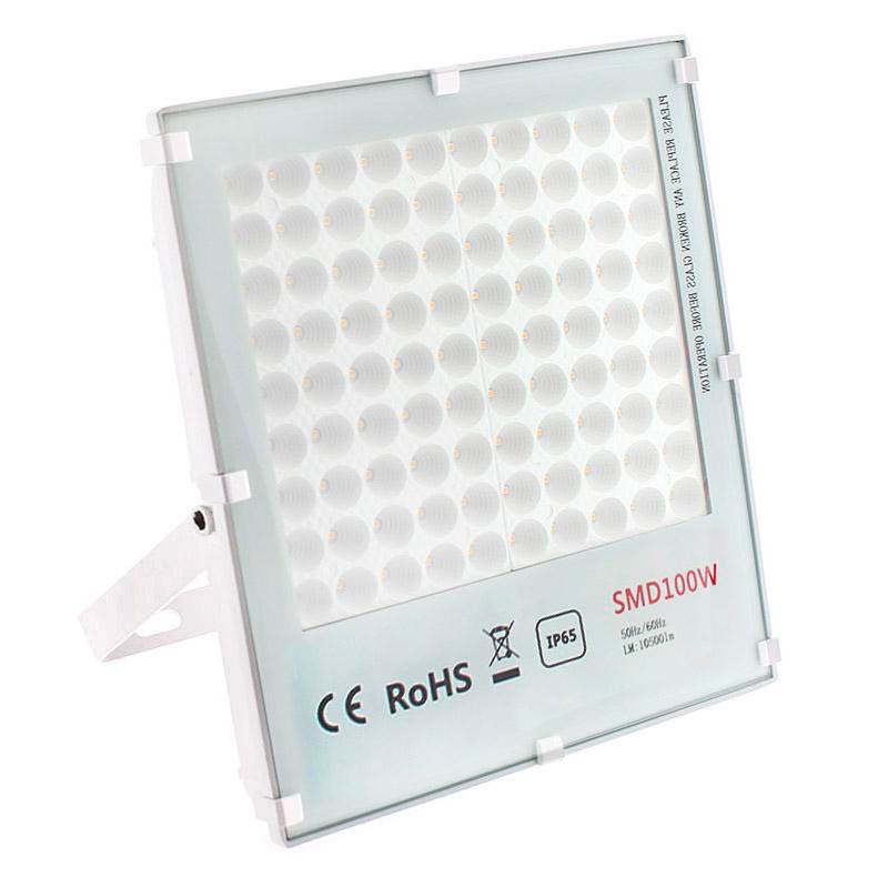 Proyector Led Tablet Epistar, 100W, Blanco neutro